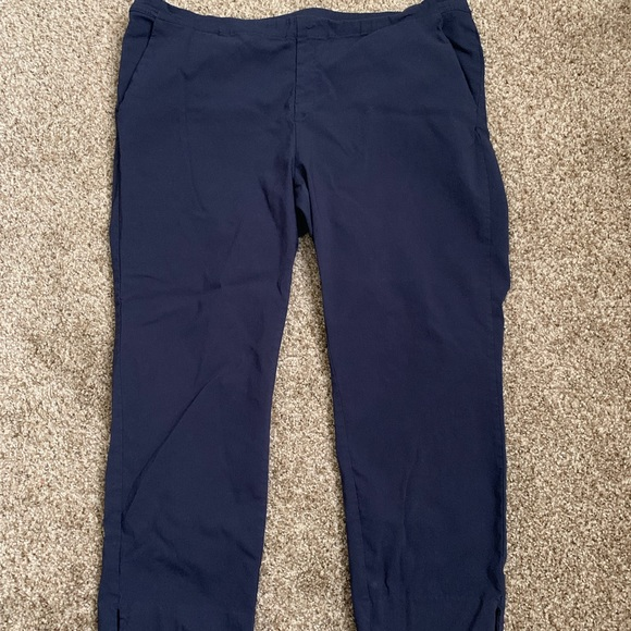 Jaclyn Smith Pants - 🤑$8 FINAL PRICE🤑EUC Jaclyn Smith blue ankle XL